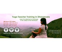 BestYoga Teacher Training CourseInThe Himalayas Of Dharamsala, India