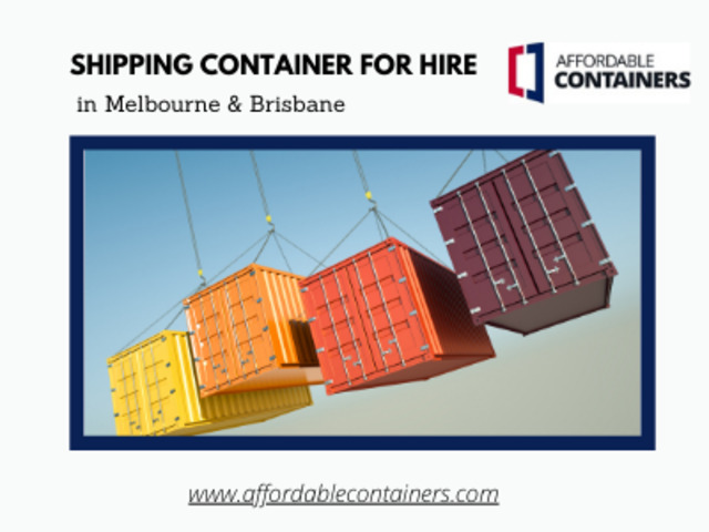 Shipping Container for Hire - Buy Shipping Container from Melbourne Sale - 1