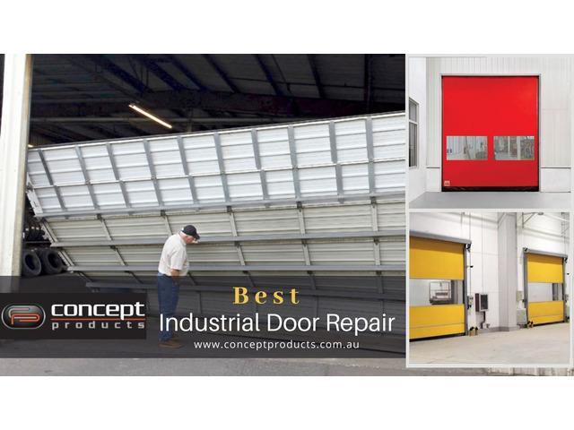 Get The Amazing Industrial Door Repair Services In Perth - 1