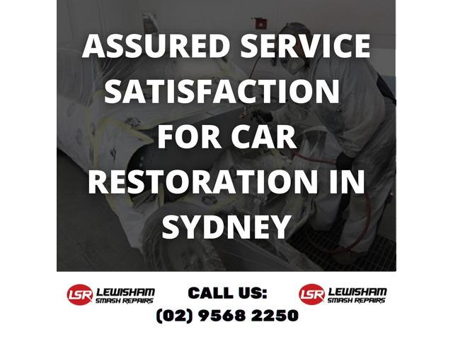 Assured Service Satisfaction for Car Restoration in Sydney - 1