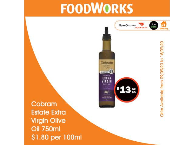 Cobream Estate Extra Virgin Olive Oil - Essential Item, FoodWorks Clovelly - 1