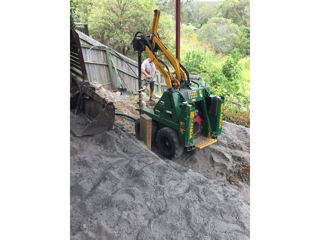 Tight Access Machinery Landscaping Services - Rogers Little Loaders. - 1