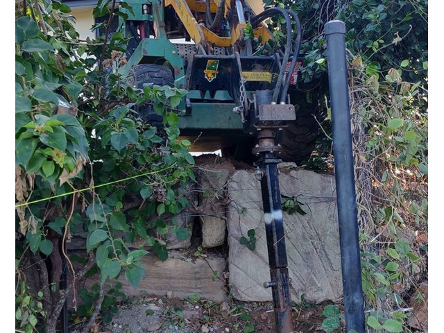 Tight Access Machinery Landscaping Services - Rogers Little Loaders. - 5