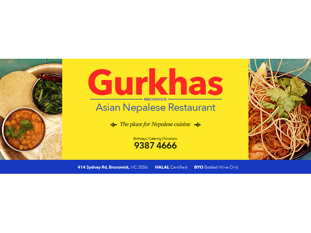 Now order your favourite Nepali cuisines at our restaurant in Brunswick - 4