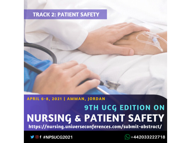 9th UCG edition on Nursing and Patient Safety Conference - 3