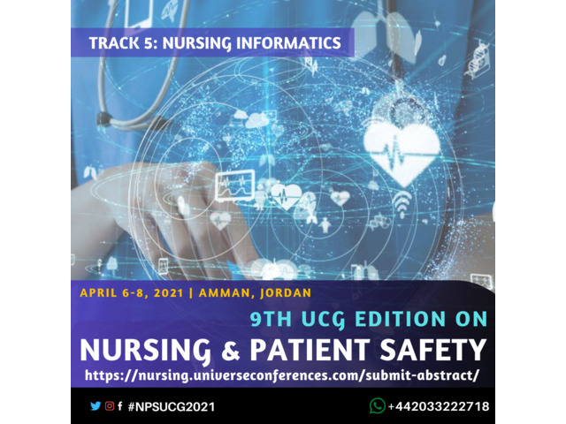 9th UCG edition on Nursing and Patient Safety Conference - 6