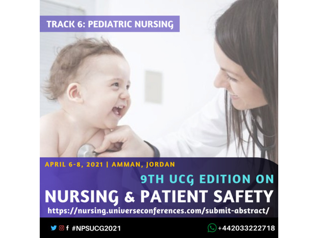 9th UCG edition on Nursing and Patient Safety Conference - 7