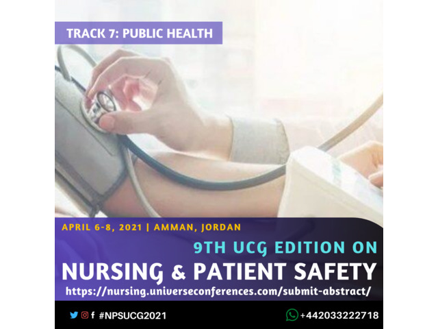 9th UCG edition on Nursing and Patient Safety Conference - 8