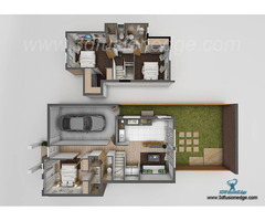 3D Floor Plan Rendering Services Home 3D Floor Plan Design