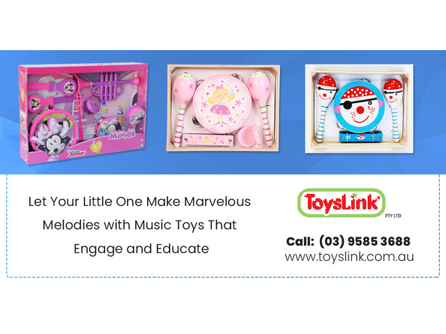 Keep Your Child Entertained with a Music Set - 1