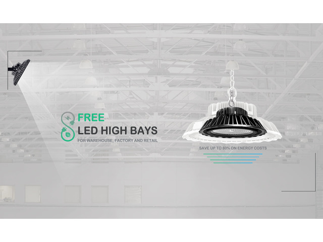 Free LED high bays replacement in Victoria - 1