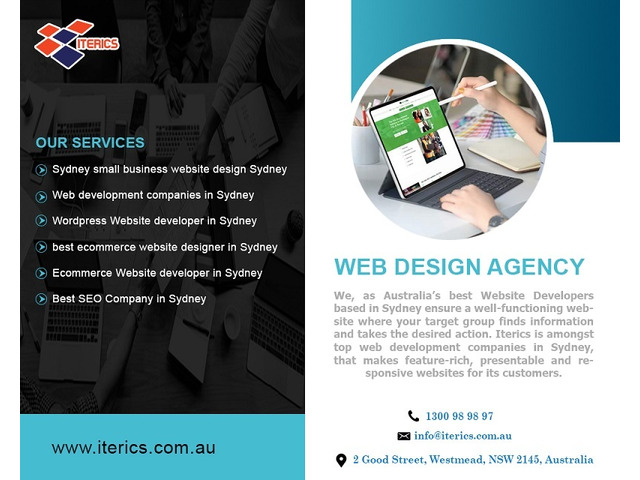 Best Web Design Companies | Affordable Web Design in Sydney - ITERICS Solutions - 1