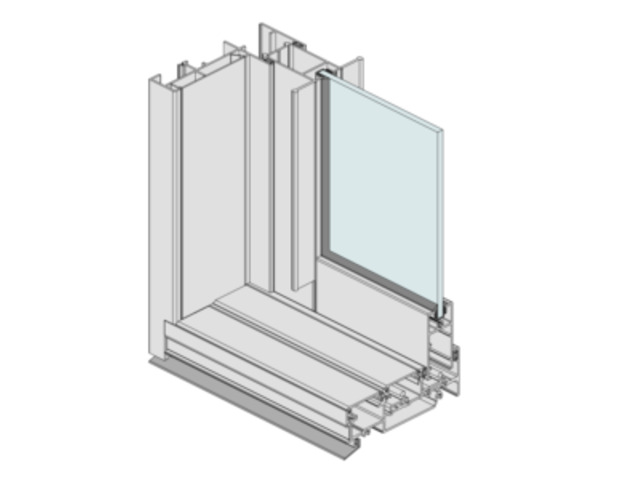 Aluminium Fixed Window Standard - 7