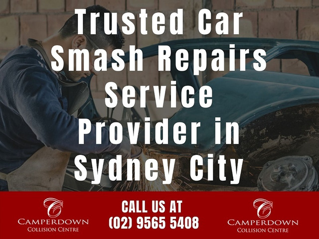 Trusted Car Smash Repairs Service Provider in Sydney City - 1