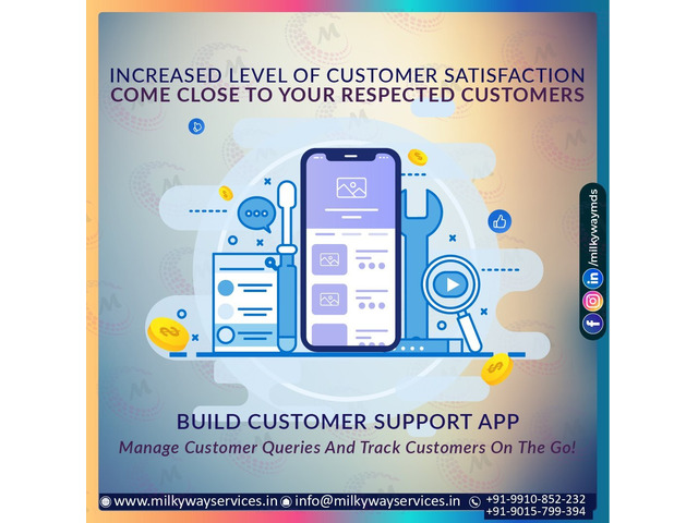Build Customer Support App Company In Noida - 1