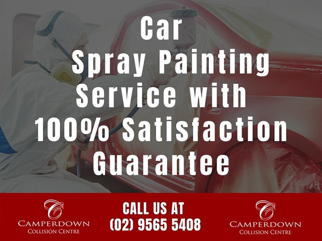 Car Spray Painting Service with 100% Satisfaction Guarantee - 1