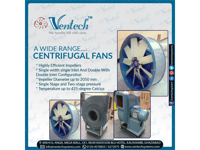 wide range of Centrifugal fans - 1