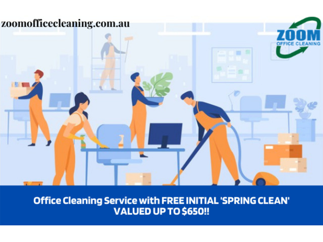 Office Cleaning Service with FREE INITIAL 'SPRING CLEAN' VALUED UP TO $650!! - 1