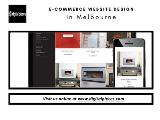E-commerce website design in Melbourne – Design agency in Point Cook - 1
