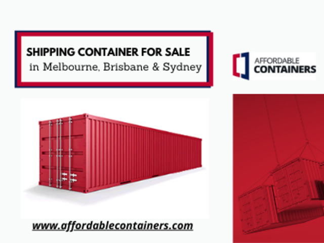 Hire shipping container in Melbourne, Brisbane & Sydney - 1