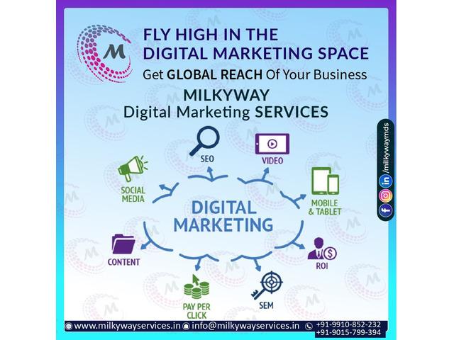 Milkyway Digital Marketing Services Company In Noida - 1