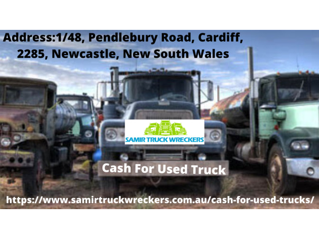 Cash for Used Trucks Newcastle - 1