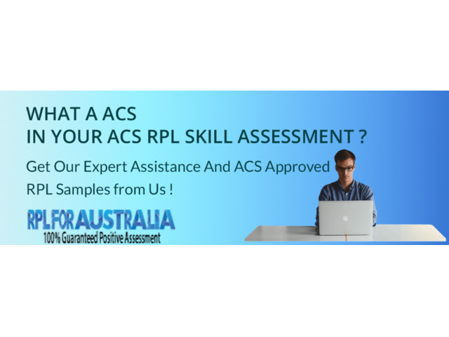 Obtain the ACS Skill Assessment Sample Reference Letter from our Experts! - 1