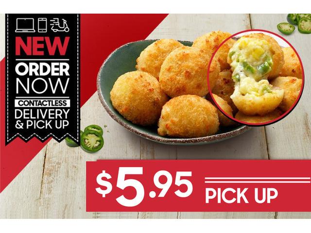 JALAPEÑO CHEESE BITES On Sale Pizza Hut Moorebank - Moorebank, NSW - 1