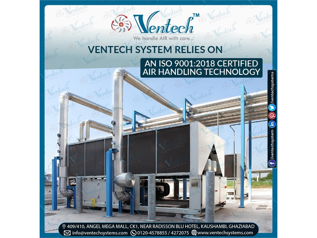 Ventech System Relies On An Certified Air Handling Technology - 1