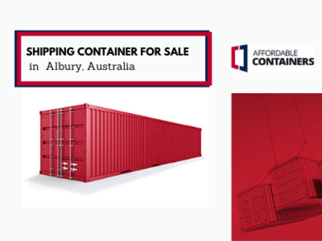 Affordable Containers Albury - shipping container depot - 1