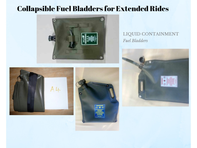 Buy High Quality Collapsible Fuel Bladders For Motorcycles - 2