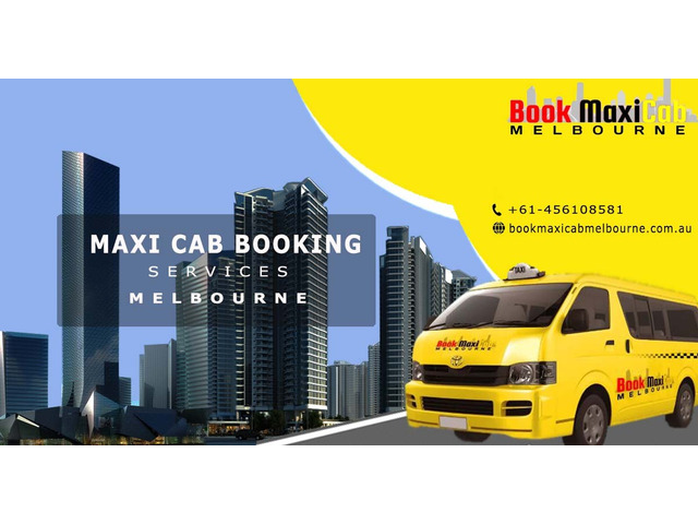 Melbourne Maxi Taxis and Melbourne Cabs - 1