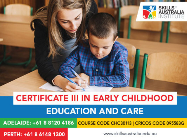 Love To Spend Time With Children? Join Our Certificate III in Early Childhood Education And Care - 1