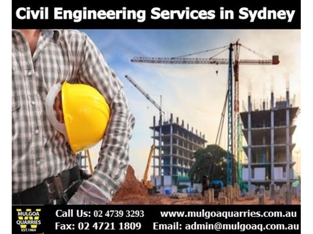 Civil Engineering Sydney - Mulgoa Quarries - 1
