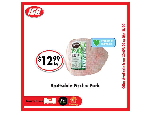 Scottsdale Pickled Pork - Grocery Item, IGA Ravenswood - 1