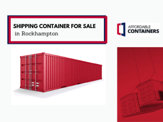 Shipping containers Rockhampton –Buy or Hire Storage Containers - 1