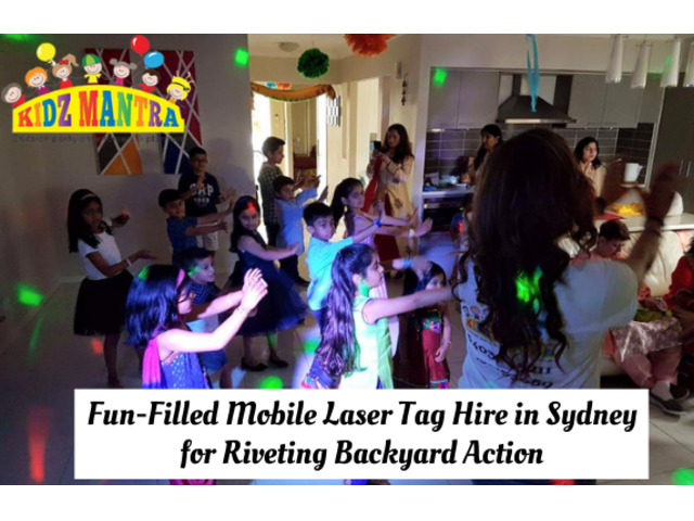 Fun-Filled Mobile Laser Tag Hire in Sydney for Riveting Backyard Action | Call : 1300030312 - 1