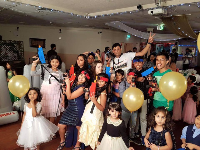 Fun-Filled Mobile Laser Tag Hire in Sydney for Riveting Backyard Action | Call : 1300030312 - 7