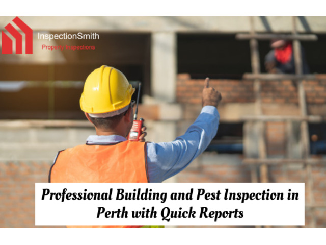 Professional Building and Pest Inspection in Perth with Quick Reports | Call : 0437018885 - 1