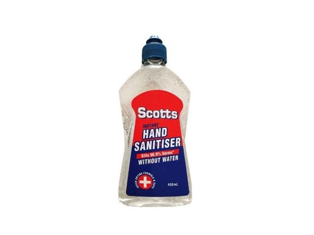 Buy Scotts Hand Sanitiser 450Ml - 1