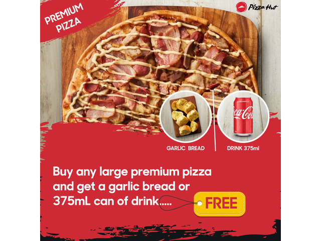 Premium Pizza On Sale Pizza Hut Moorebank - 1