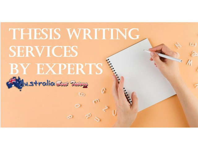 Thesis Writing Services by Experts - 1