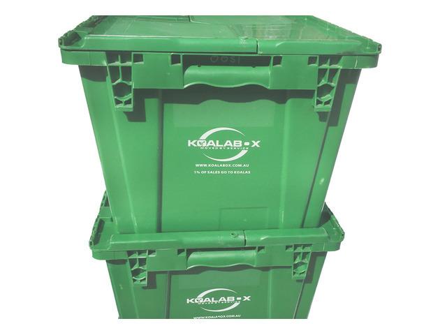 Optimum convenience using plastic moving boxes - 2