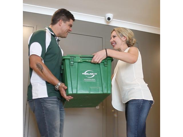 Optimum convenience using plastic moving boxes - 3