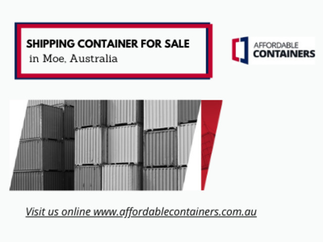 Buy shipping containers for sale – Containers for Moe - 1