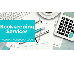 Hire Account Consultant For Your Bookkeeping Services