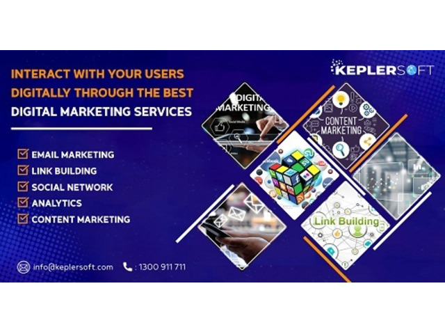 Interact With Your Users Digitally Through The Best Digital Marketing Services - 1