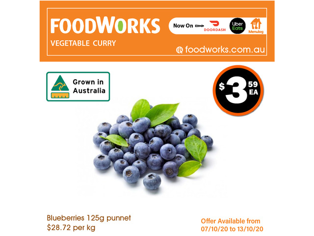 Buleberries - Essential Item, FoodWorks Clovelly - 1