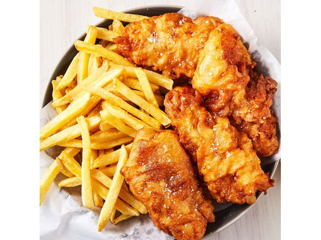 Fish and Chips with Beer or Wine in the CBD Perth. - 1