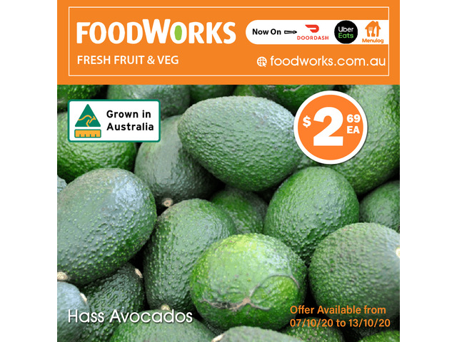 Hass Avocados - Essential Item, FoodWorks Clovelly - 1